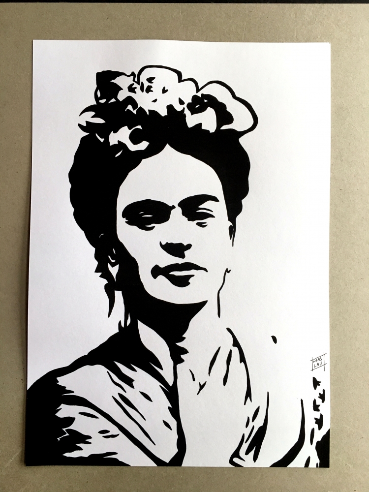 Frida Kahlo by MasLauArt